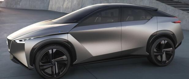Ikke mye som minner om første generasjon av Nissan Leaf her! Snart kommer Nissan med elektrisk SUV.