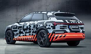 Audi starter med SUV når de nå skal satse tungt på elbiler framover.