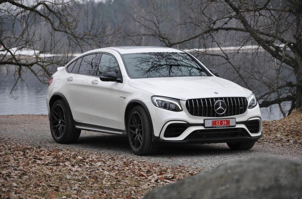 c105bac1f Prøvekjørt Mercedes-AMG GLC 63 S 4Matic+ Coupe: Denne bilen tar deg ...