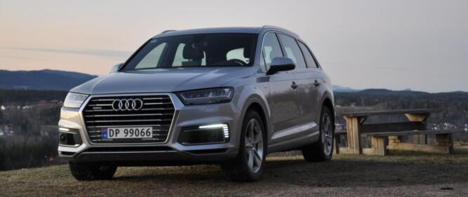 Audi har stor suksess med sin Q7 e-tron i Norge. Også den mer sporty Q8 kommer som ladbar hybrid.