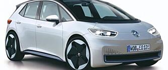 Avslørt: Dette er VWs nye elbil