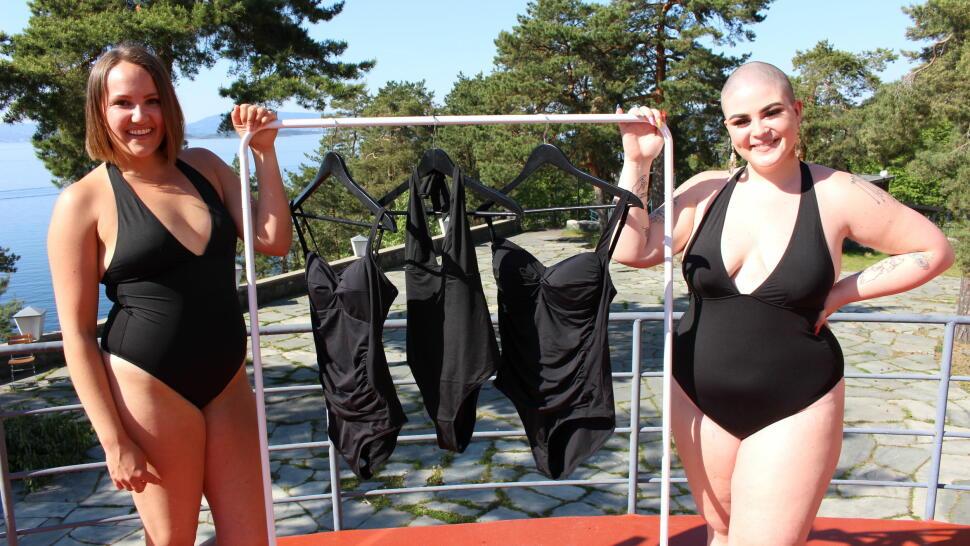 817d4514 Camilla Lorentzen og Charlotte Skogrand Bø har testet badedrakter fra  KappAhl, H&M og Cubus.