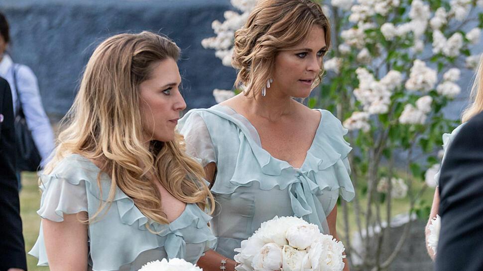 fc0668b4 BRYLLUP: Prinsesse Madeleine var brudepike da bestevenninnen Louise  Gottlieb giftet seg.