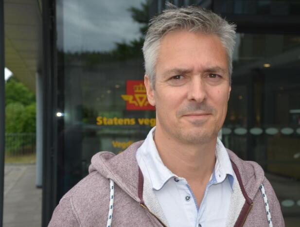 Seniorrådgiver Geir Mjøsund i Krimseksjonen i Statens vegvesen.