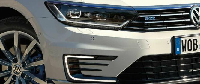 Passat GTE yter til sammen 218 hk. Det er takket være kombinasjonen av en elmotor og en bensinturbo på 1,4 liter.