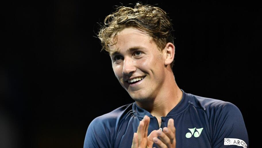 7d9915ae AVANSERTE: Caper Ruud skal spille første runde i US Open.