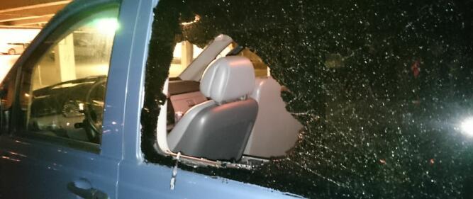 Det tar ikke lang tid å knuse en siderute og stikke av med deg som ligger inne i bilen – det har mange nordmenn på bilferie fått erfare. Foto: Gjensidige.